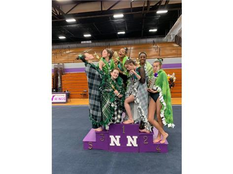 Gymnastics at Niles North