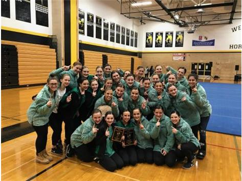 JV and Varsity Conference Dance Champions