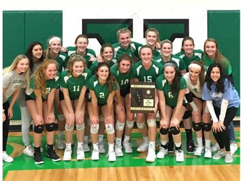 GIRLS VOLLEYBALL REGIONAL CHAMPS