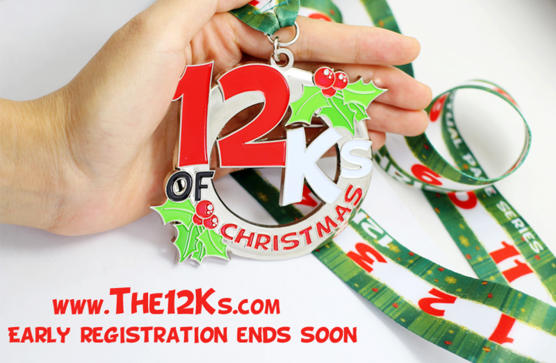 limited edition 35 medal - 12k Of Christmas