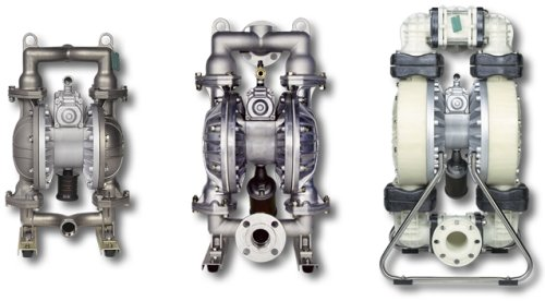 Yamada air diaphragm pumps