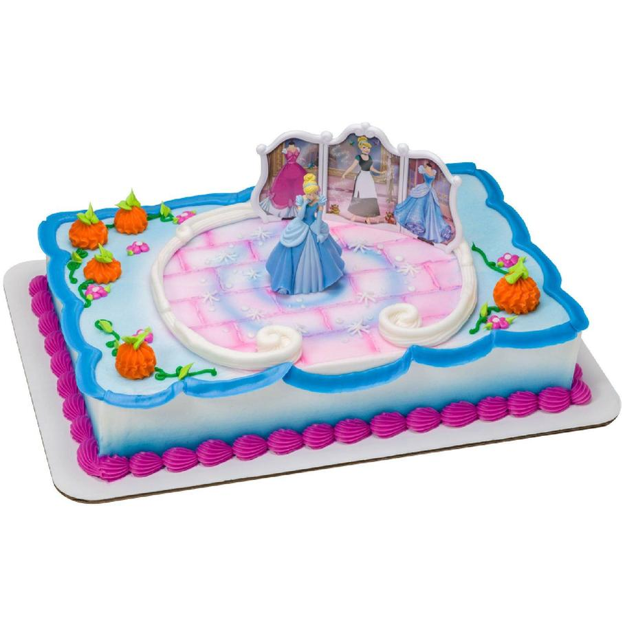Disney Princess Cinderella Cake Topper - Punchbowl