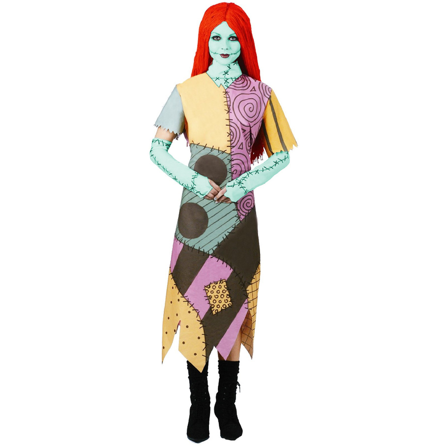 The Nightmare Before Christmas Sally Adult Costume - Punchbowl