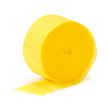 Buttercup Yellow (Yellow) Crepe Paper (1 roll)