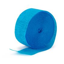 Aqua Blue (Turquoise) Crepe Paper (1 roll)