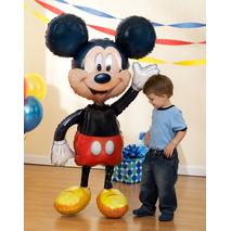 """Disney Mickey Mouse Airwalker 52"""" Jumbo Foil Balloon"""