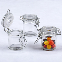 Mini Glass Favor Jars (12)