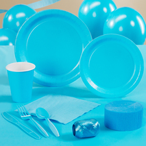 Bermuda Blue (Turquoise) Standard Party Pack for 24