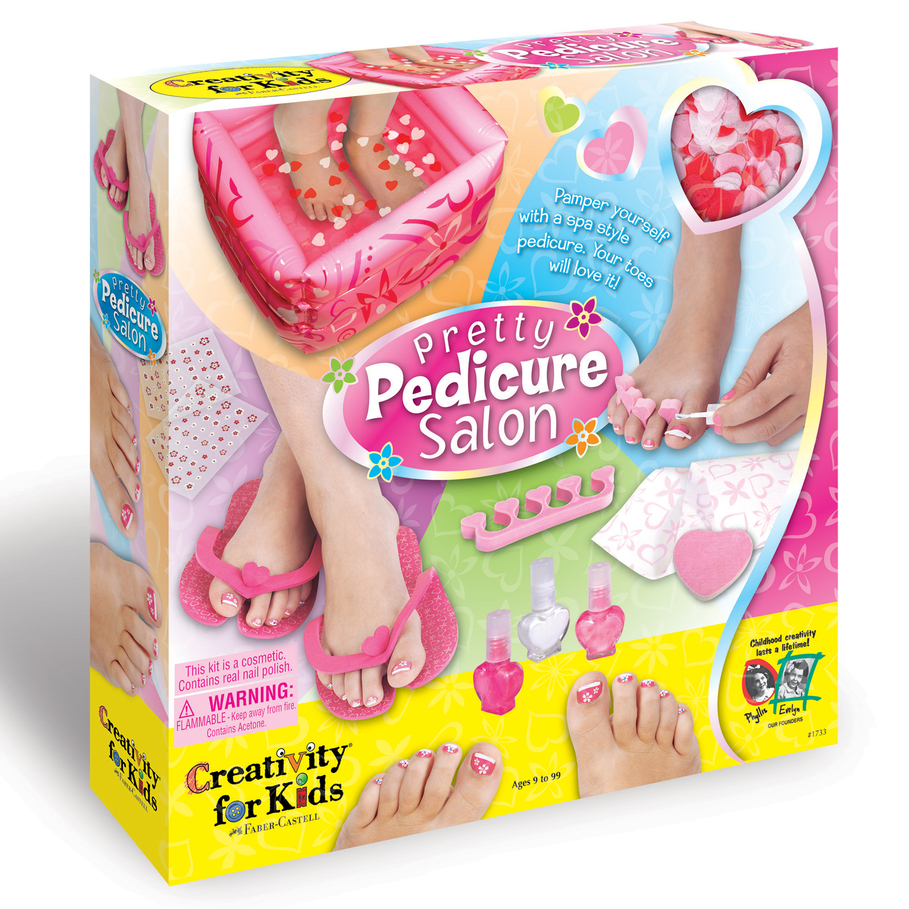 Pedicure For Kids : Creativity for Kids Pretty Pedicure Salon Activity - Punchbowl