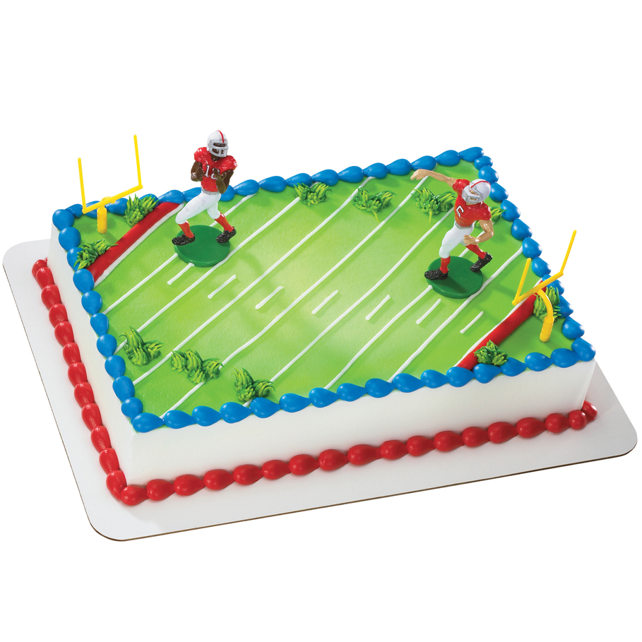 football decorations for cakes