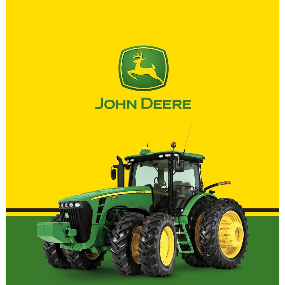 John Deere Tractor Logo John Deere Tractor Plastic