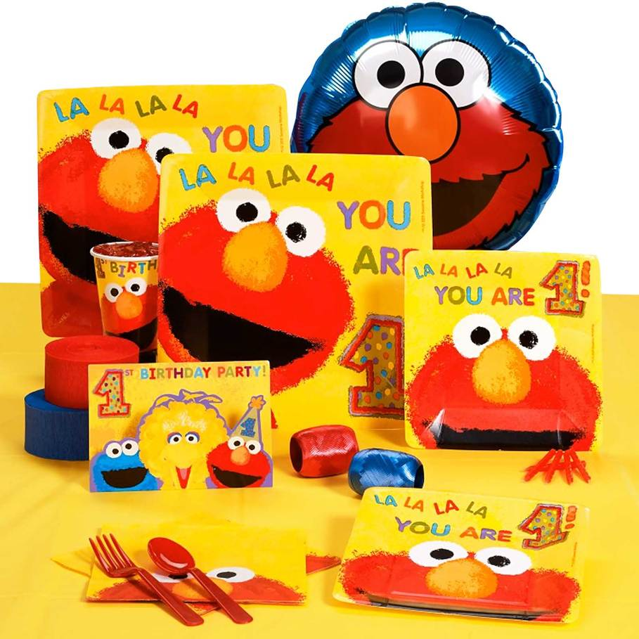 Pictures Of Elmo Party Supplies