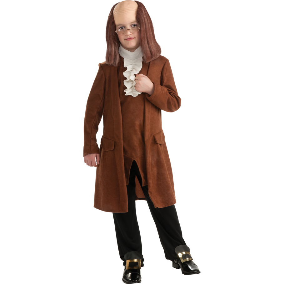 Benjamin Franklin Child CostumeBenjamin Franklin As A Child