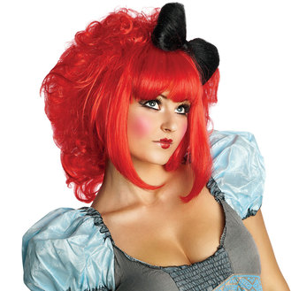 Cutie Doll Red Adult Wig