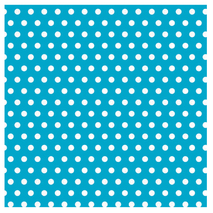 Caribbean with Polka Dot Jumbo Gift Wrap