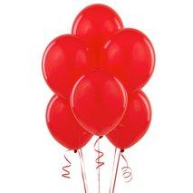 "Red Matte 11"" Balloons (6)"