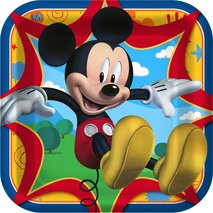 Disney Mickey Fun and Friends Square Dinner Plates (8)