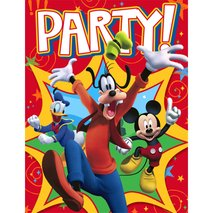 Disney Mickey Fun and Friends Invitations (8)