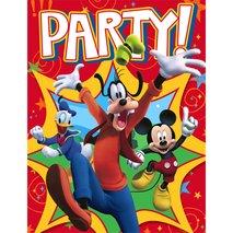 Disney Mickey Fun and Friends Invitations (8)