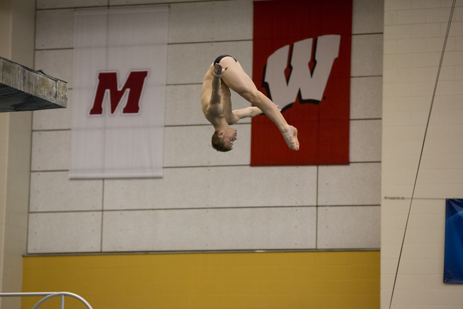 Steele Johnson leads the Purdue men with nine individual event victories this season.