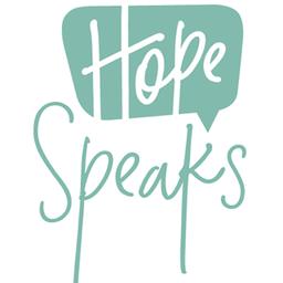 Hope Speaks--Caroline Eckels