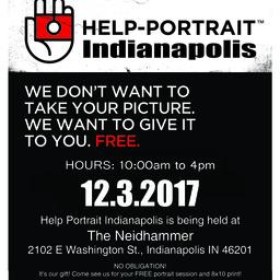HELP-PORTRAIT Indianapolis 2017