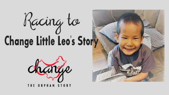 Racing to Change Little Leo's Story is raising money on AdoptTogether for their adoption from China.