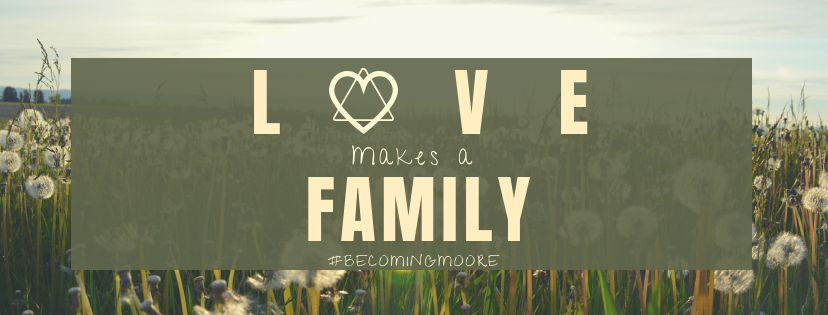 Moore Family Adoption is raising money on AdoptTogether for their adoption from United States.