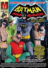 BATMAN AND ROBIN ALL MALE XXX Medium Front