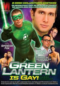 GREEN LANTERN IS GAY XXX PARODY Medium Front