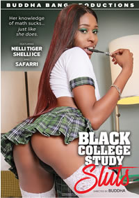 BLACK COLLEGE STUDY SLUTS (8-18-16) Medium Front