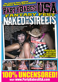 FANTASY FEST NAKED IN THE STREETS (05-10 Medium Front