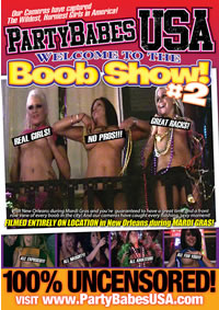 WELCOME TO THE BOOB SHOW 02 (07-26-12) Medium Front