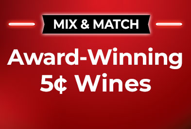 Award-Winning 5¢ Wines