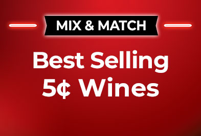 Best Selling 5¢ Wines