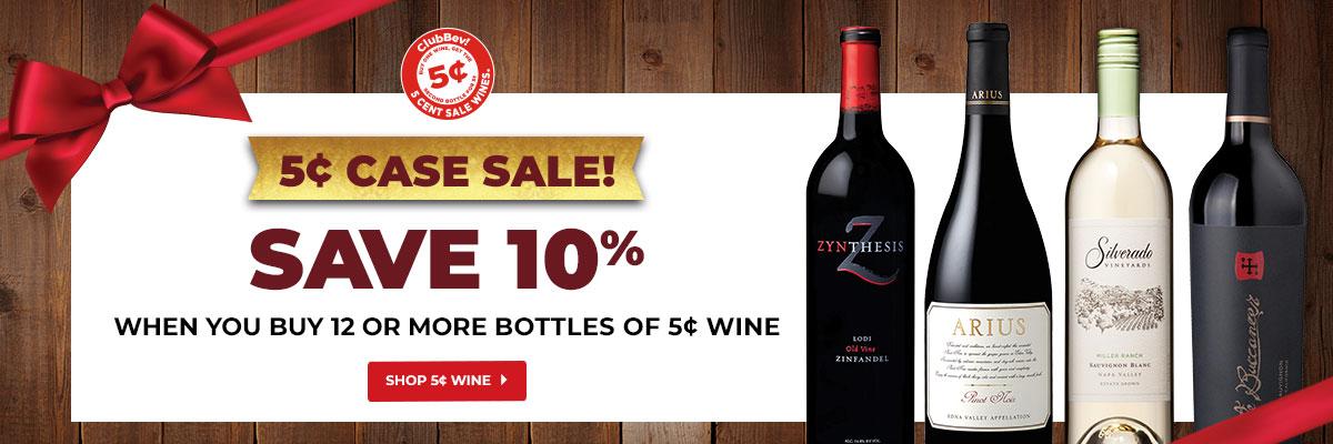Shop 5¢ Wine