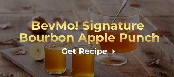 BevMo! Signature Bourbon Apple Punch