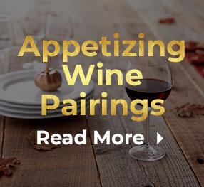 Appetizing Wine Pairings