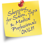 Professional Spa and Salon Supplies, Equipment and Furniture for Professionals Only - We Check!