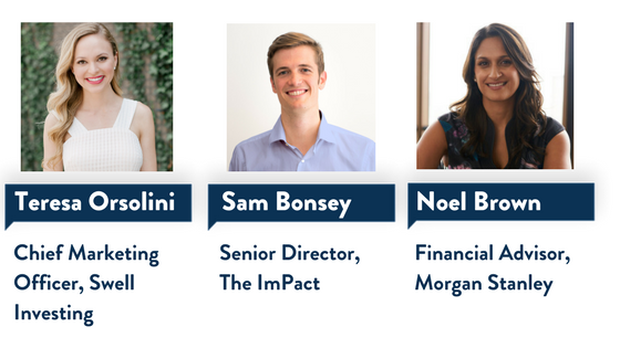 Impact Investing Millennial Makers 3