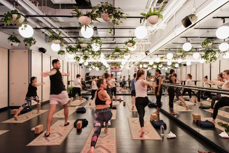Nyt We Work Yoga Studio