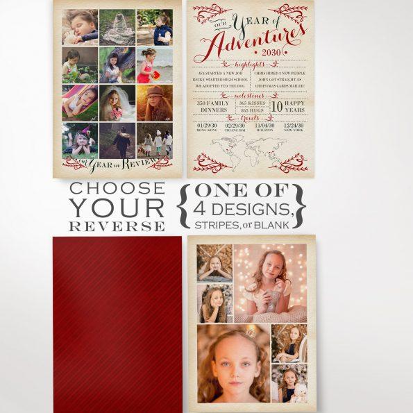 Christmas Greeting Card Photography Kit Options