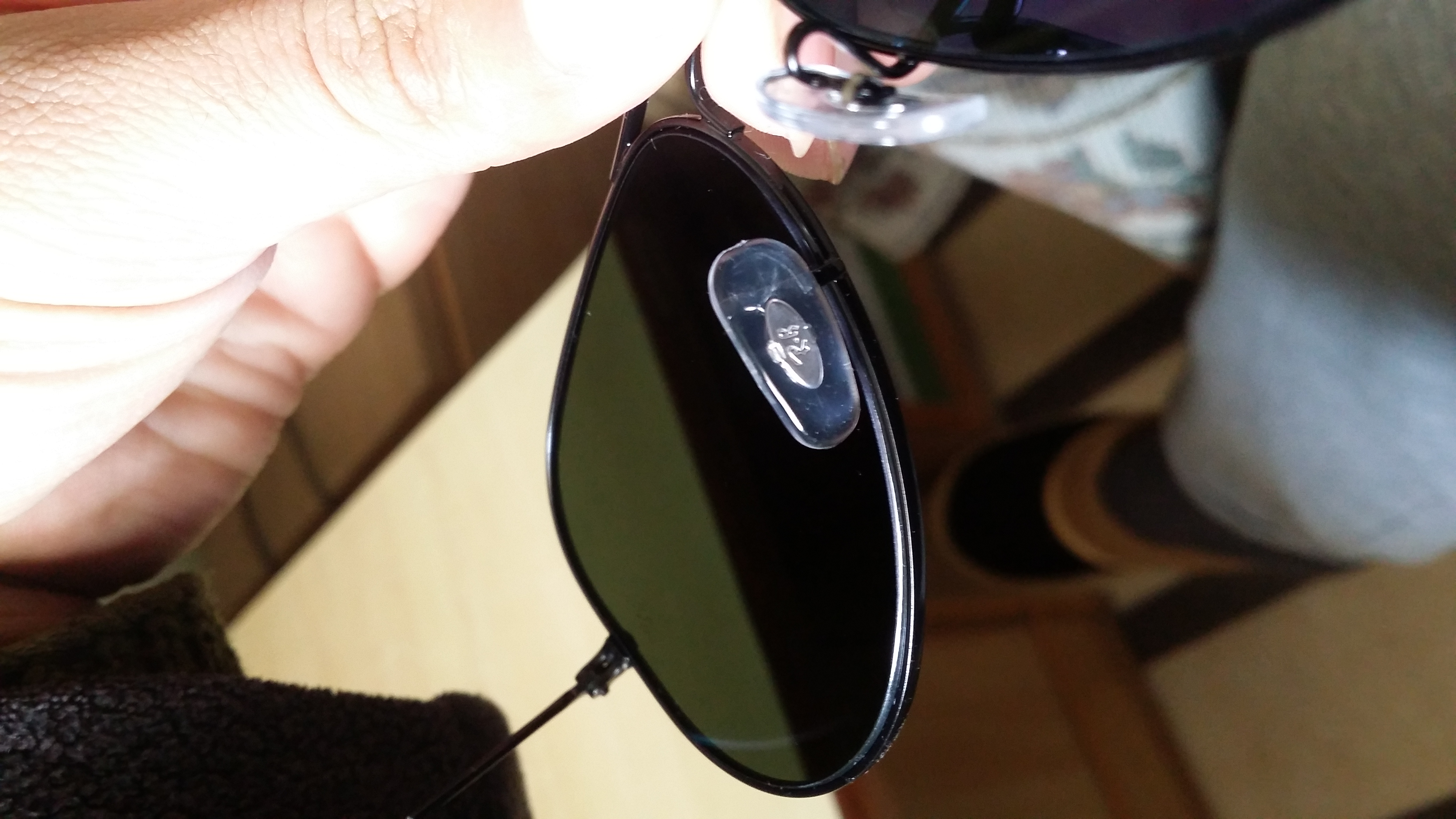 f49ddc25ddec7 Fake Ray Ban Nose Pads – Southern California Weather Force