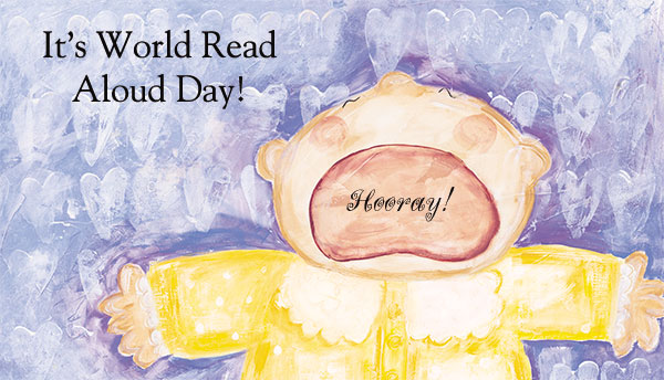 Happy World Read Aloud Day!