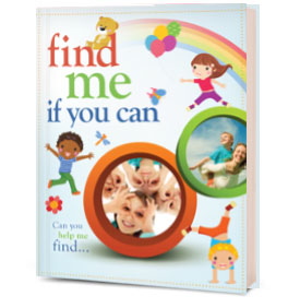Find Me If You Can Personalized Book for Two Children