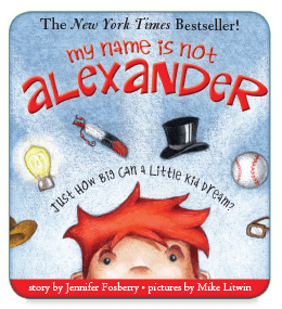 My Name is Not Alexander Interactive Children's Book App