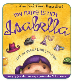 My Name is Not Isabella Interactive Children's Book App