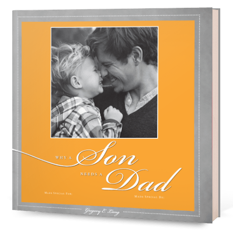 Why a Son Needs a Dad - Fathers Day Gift