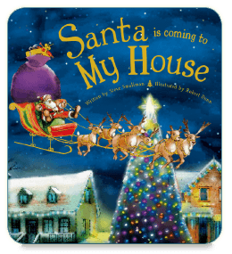 Santa is Coming to My House Interactive Children's Book App