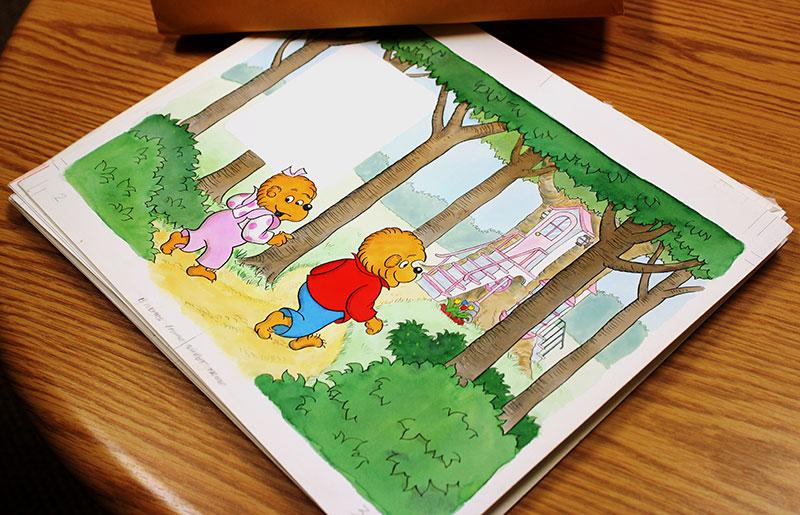 Berestain Bears artwork